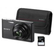 Sony Cyber-shot DSC-w830 – digitale camera 's (Auto, wolkig, Flash, fluorisierend, je rivalen, strand, vuurwerk, landschap, nacht, nachtporträt, Pet, sneeuw, Auto, afbeelding, Scene, afbeelding, Frame, diapresentatie, batterij/accu, compactcamera)