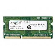 Crucial CT51264BF160BJ 4 GB DDR3-RAM Laptop-werkgeheugen module 1600 MHz 1 x 4 GB