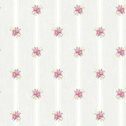 Tapet Shabby Chic Alice Bleu Pudrat - Dungi