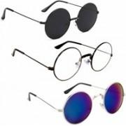 shadz Round, Round, Round Sunglasses(For Boys & Girls)