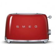 Smeg 50's Style Retro 2 Slice Toaster - Fiery Red