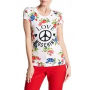 LOVE Moschino Fruittini Logo T-Shirt OPTICAL WHITE