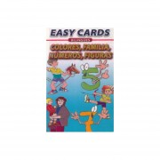 EASY CARDS BILINGUES COLORS FAMILY NUMBERS SHAPES / COLORES FAMILIA NUMEROS FIGURAS