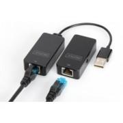 Extender USB 2.0 cat.5e/cat.6e - 50m Digitus