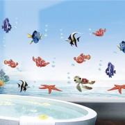 Sticker perete Under the sea 60 x 130 cm