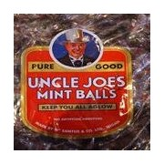 Uncle Joes Original Mint Balls Tradtional Boiled Sweets