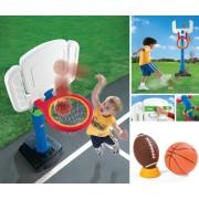 Set dublu de joaca STEP2 Basketball&Football