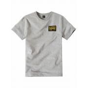 G-Star RAW! Jongens Shirt Korte Mouw - Maat 176 - Grijs - Katoen/polyester