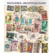 SOUTH AFRICA ~ Stamps Large and Small- 100 Different