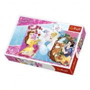 Puzzle Trefl, Disney Princess, Invitatie la bal, 60 piese