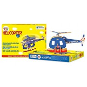 Genius Box - Play some Learning Helicopter B 3D Wooden Puzzle Educational Activity Kit / Educational Toy / Educational Kit / STEM