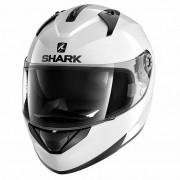 Cască Moto Integrală SHARK RIDILL BLANK · Alb