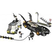 Fugitive of The Lego Batmobile-to-face 7781
