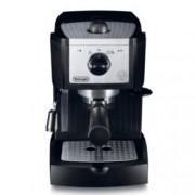 Ръчна еспресо машина Delonghi EC 156 B, 1100W, 15 bar налягане, крема диск, черна