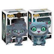 Set 2 piezas chessur y cheshire gato rison Funko Pop Alicia INCLUYE BOLSA POP PARA REGALO.