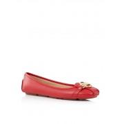 Michael Kors Fulton ballerina van leer