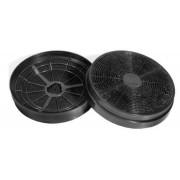 Set filtre de carbon hota decorativa Heinner FC-HD650, Compatibile cu modelul DCH-650GX, Dimensiuni: 17.5 x 3.5 cm