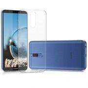 kwmobile Funda Compatible con Huawei Mate 10 Lite Carcasa de TPU para móvil Cover Trasero en Transparente