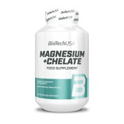 BioTechUSA Magnesium + Chelate 60 kapszula
