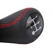 Universele 5-Speed handmatige Shift knop handmatig Gear Shift knop Stick hoofd voor alle Car(Red) geschikt