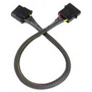 Tap 4pin(Molex) hosszabito 30cm - Akasa AK-CBPW02-30