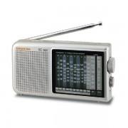 Analóg AMFMSW hordozható világvevő rádió, SG-622