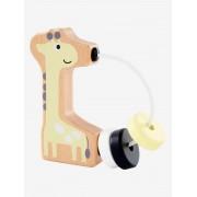 VERTBAUDET Chocalho Girafa em madeira preto vivo bicolor/multicolor