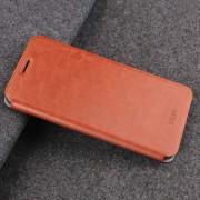 MOFI Huawei P20 Pro Caballo Loco Textura Flip Horizontal A Prueba De Golpes Caso Protector De Cuero Con El Titular (Brown)