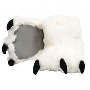 Merkloos Dierenpoot pantoffels ijsbeer voor kinderen 21-25 - sloffen - kinderen