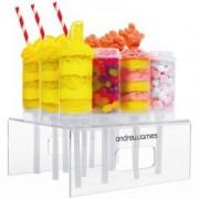 Stand de dulciuri cu 12 tuburi Andrew James AJ000558