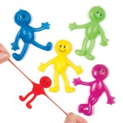 Baker Ross Happy Face Stretchy Men (Pack of 12)
