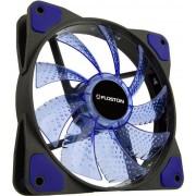 Ventilator Floston ICE15, 120mm, 1300 rpm (Negru/Albastru)