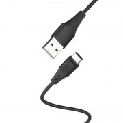 HOCO X32 1M Type-C USB Data Sync Charging Cable for Samsung Huawei Xiaomi - Black