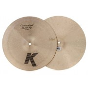 "Zildjian 14"" K-Custom Dark Hi-Hat Pratos de choque"