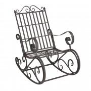 [casa.pro] Градински люлеещ се стол , 92 x 59 x 90 cm vintage, Зелен