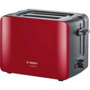 Prajitor de paine Bosch, rosu/gri 2 felii TAT6A114 GARANTIE 2 ANI