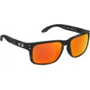 Oakley HOLBROOK Retro Square Sunglass(Red)