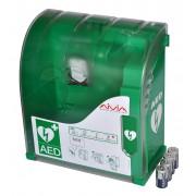 AED SKŘÍŇKA S ALARMEM 42x39x20cm