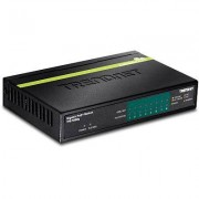 Trendnet TPE-TG82G switch di rete Gigabit Ethernet (10/100/1000) Nero Supporto Power over Ethernet (PoE)