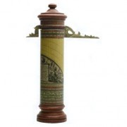 Meridiana verticale cilindrica