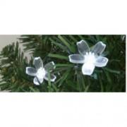 Dekoráció izzósorhoz, virág, 50 db, Ø5 mm-es LED-re