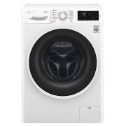 Masina de spalat rufe LG F0J6WY1W, Steam, 6.5 kg, 1000 rpm, A+++, Direct Drive, Slim, Alb