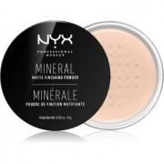NYX Professional Makeup Mineral Finishing Powder pudra cu minerale culoare Medium/Dark 8 g