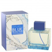 Antonio Banderas Splash Blue Seduction Eau De Toilette Spray 3.4 oz / 100 mL Fragrances 501674