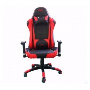 Silla Gamer Sillon Pc Butaca Ergonomica Noga Net Stratos Red