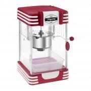 Máquina de pipocas- design vintage dos anos 50 - vermelha