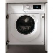Masina de spalat rufe incorporabila Whirlpool BI WMWG 71484E EU, 6th Sense, 7 kg, 1400 rpm, Clasa A+++-10%, Inverter, Display digital, Alb