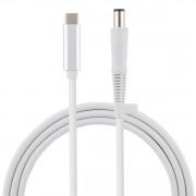 USB Type-C till 7.4 x 0.6mm Pin Laptop laddkabel