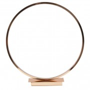 Pacific Gold LED Circle Table Lamp