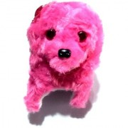 Nawani Soft Toy Fantastic Puppy Battery Operated Back Flip Jumping Dog Jump Run Toy Kid Color May Vary